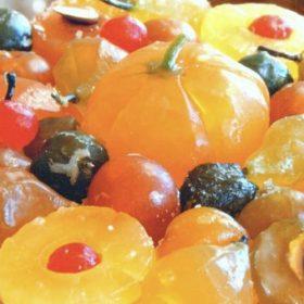 Frutas glaseadas